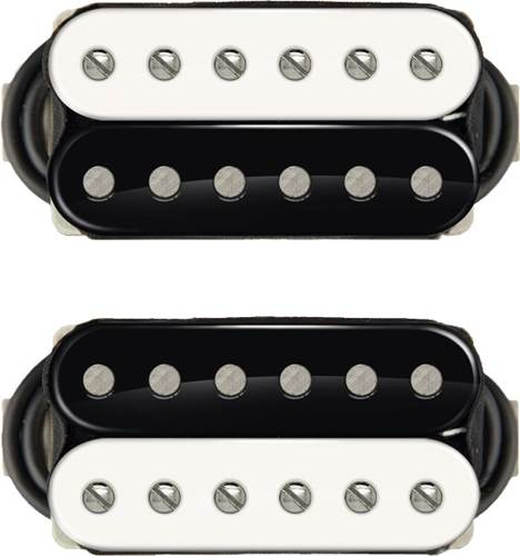 Bare Knuckle VHII Calibrated Humbucker Set - 53mmSpacing - 4 Conductor - Short Leg - Zebra