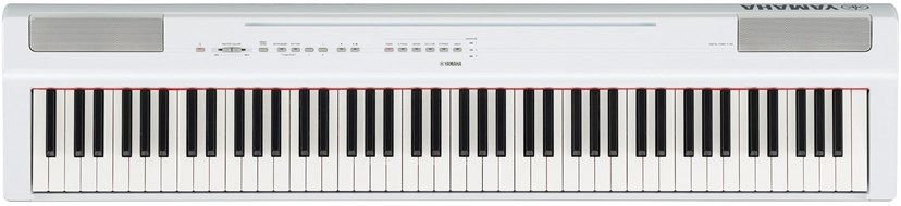 Yamaha P125 White Digital Piano