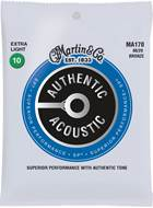 Martin Authentic Acoustic - SP - 80/20 Bronze Extra Light (10-47)