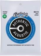 Martin Authentic Acoustic - SP - 80/20 Bronze Extra Light (10-47)