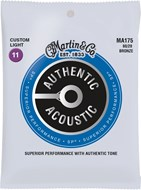 Martin Authentic Acoustic - SP - 80/20 Bronze Custom Light (11-52)