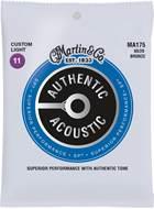 Martin Authentic Acoustic - SP - 80/20 Bronze Custom Light (11-52)