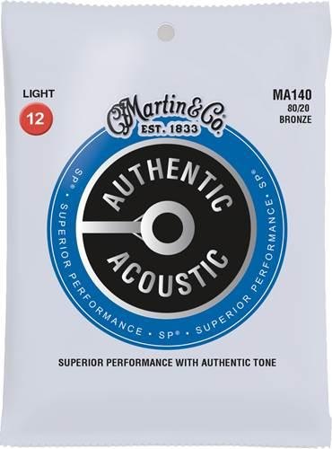 Martin Authentic Acoustic - SP - 80/20 Bronze Light (12-54)