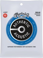 Martin Authentic Acoustic - SP - Phosphor Bronze Light (12-54)