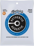 Martin Authentic Acoustic - SP - Phosphor Bronze Light Medium (12.5-55)