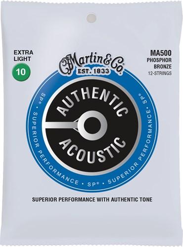 Martin Authentic Acoustic - SP - Phosphor Bronze 12 String Extra Light (10-47)