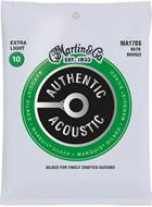 Martin Authentic Acoustic - Marquis Silked - 80/20 Bronze Extra Light (10-47)