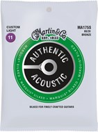 Martin Authentic Acoustic - Marquis Silked - 80/20 Bronze Custom Light (11-52)
