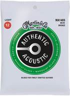 Martin Authentic Acoustic - Marquis Silked - 80/20 Bronze Light (12-54)