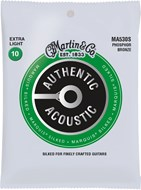 Martin Authentic Acoustic - Marquis Silked - Phosphor Bronze Extra Light (10-47)