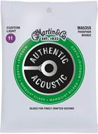 Martin Authentic Acoustic - Marquis Silked - Phosphor Bronze Custom Light (11-52)