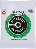 Martin Authentic Acoustic - Marquis Silked - Phosphor Bronze Light (12-54)