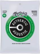 Martin Authentic Acoustic - Marquis Silked - Phosphor Bronze 12 String Extra Light (10-47)