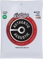 Martin Authentic Acoustic - LifeSpan 2.0 - 80/20 Bronze Extra Light (10-47)
