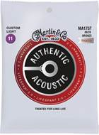 Martin Authentic Acoustic - LifeSpan 2.0 - 80/20 Bronze Custom Light (11-52)