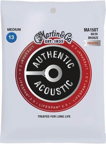 Martin Authentic Acoustic - LifeSpan 2.0 - 80/20 Bronze Medium (13-56)