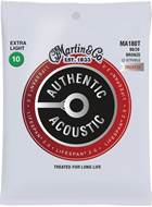 Martin Authentic Acoustic - LifeSpan 2.0 - 80/20 Bronze 12 String Extra Light (10-47)