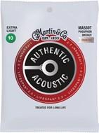 Martin Authentic Acoustic - LifeSpan 2.0 - Phosphor Bronze Extra Light (10-47)