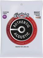Martin Authentic Acoustic - LifeSpan 2.0 - Phosphor Bronze Custom Light (11-52)