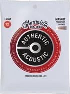 Martin Authentic Acoustic - LifeSpan 2.0 - Phosphor Bronze Light (12-54)