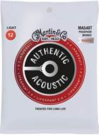 Martin Authentic Acoustic - LifeSpan 2.0 - Phosphor Bronze Light (12-54)