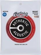 Martin Authentic Acoustic - LifeSpan 2.0 - Phosphor Bronze Medium (13-56)