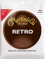 Martin Retro Monel - Light (12-54)