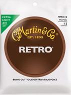 Martin Retro Monel - 12 String Extra Light (10-47)