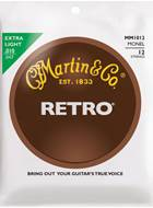 Martin Retro Monel - 12 String Extra Light (10-47)