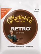 Martin Retro Monel - LJ's Choice Medium/Light (13-56)
