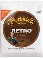 Martin Retro Monel - LJ's Choice Medium/Light (13-56)
