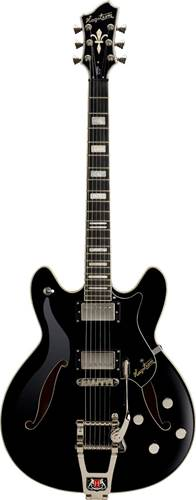 Hagstrom Tremar Viking Deluxe Black