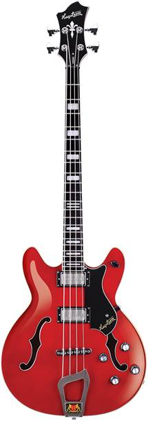 Hagstrom Viking Bass Short Scale Trans Wild Cherry