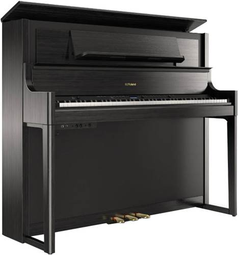 Roland LX708-CH Digital Piano - Charcoal Black