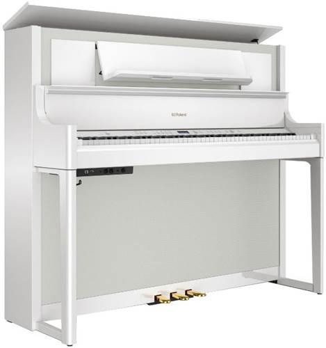 Roland LX708-PW Digital Piano - Polished White
