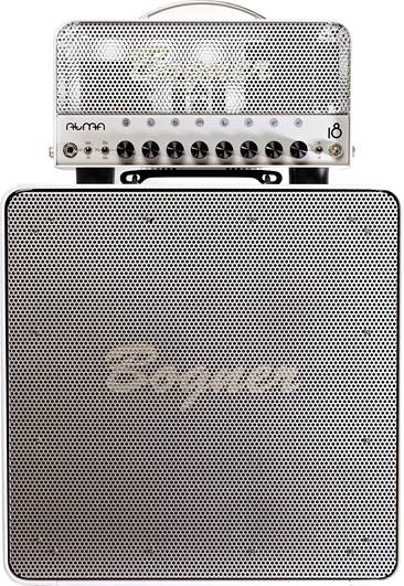 Bogner Atma Head and Cab White Edition