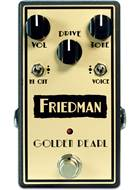 Friedman Golden Pearl Transparent Low Gain Overdrive Pedal