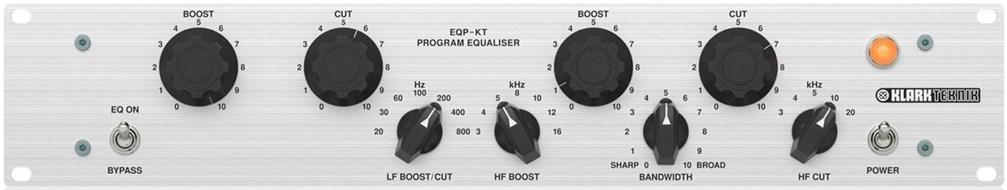 Klark Teknik EQP-KT Classic Tube EQ