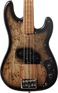 Fender Custom Shop Post Modern P Bass Black Burst Spalted Maple Master Built by Jason Smith #N10859