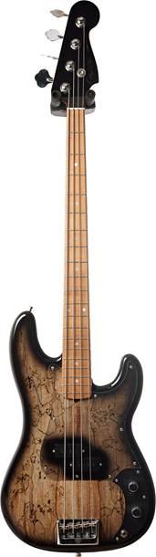 Fender Custom Shop Post Modern P Bass Black Burst Spalted Maple Master Built by Jason Smith #N10859