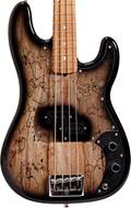 Fender Custom Shop Post Modern P Bass Black Burst Spalted Maple Master Built by Jason Smith