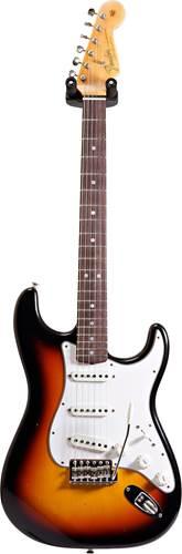 Fender Custom Shop Journeyman Relic 1965 Stratocaster Faded 3-Color Sunburst RW #CZ535672