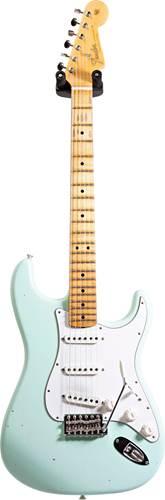 Fender Custom Shop Journeyman Relic 1965 Stratocaster Faded Surf Green MN #CZ536055