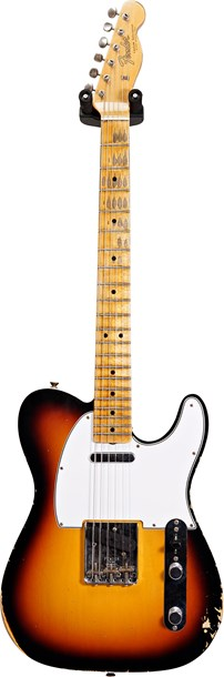 Fender Custom Shop Relic 1965 Telecaster Custom Faded 3-Color Sunburst #CZ535530