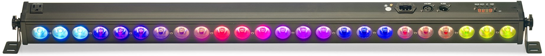 Stagg Architectural colour bar with 24 x 4-watt (4 in 1) RGBW LED