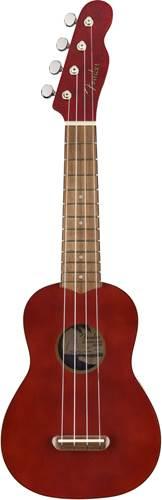 Fender Venice Soprano Ukulele Cherry Walnut Fingerboard