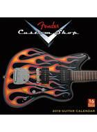 Fender Fender Custom Shop 2019 Calendar