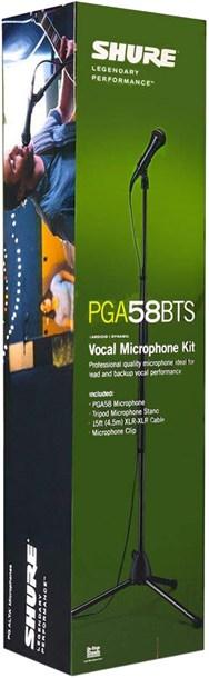 Shure PGA58BTS Microphone Pack