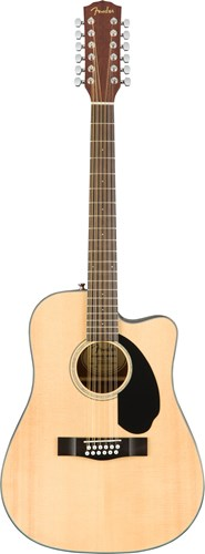 Fender CD-60SCE-12 Natural WN