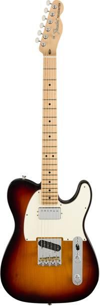 Fender American Performer Telecaster Humbucker 3 Colour Sunburst Maple Fingerboard